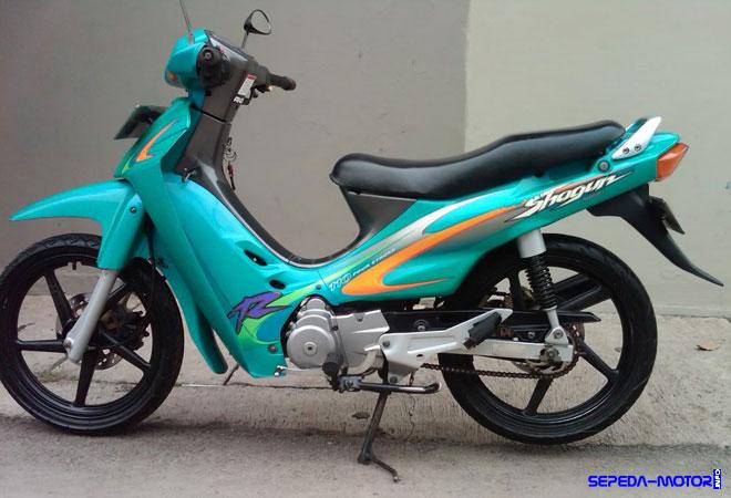 Shogun 110, Motor Bebek 4-Tak Pertama Buatan Suzuki | Info
