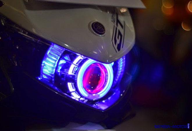 simpel modifikasi lampu led  sepeda motor info