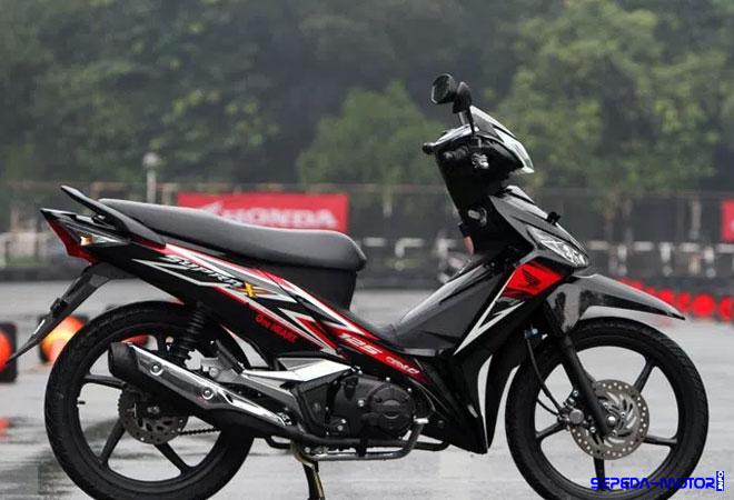 Motor Bebek Honda Supra X 125 FI Usung Grafis Baru Yang
