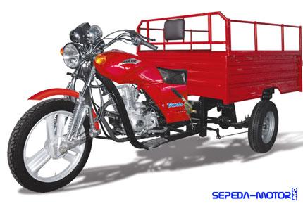 Daftar Harga Sepeda Motor Roda Tiga : Viar, Tossa, dan